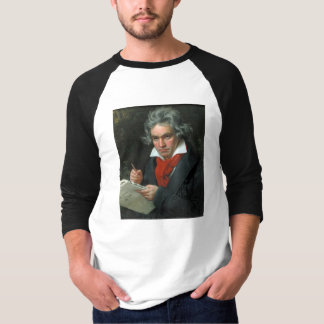 Ludwig van Beethoven-Porträt T-Shirt