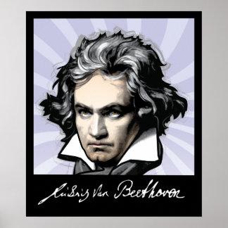 Ludwig van Beethoven Plakatdruck