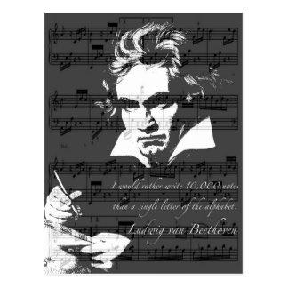 Ludwig van Beethoven Postkarte