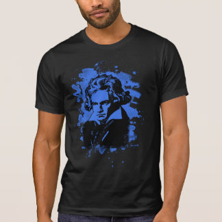 Ludwig Van Beethoven Tribute (blue) T-Shirt