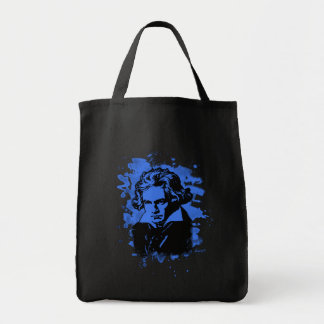 Ludwig Van Beethoven Tribute (blue) Tragetasche
