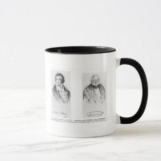 Ludwig van Beethoven u. Francois-Antoine Habeneck Tasse