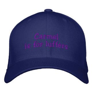 Luffers_Carmel Bestickte Kappe