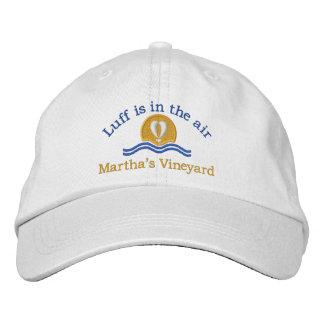 Luffers Sunset_Luff im Weinberg der air_Marthas Bestickte Baseballkappe