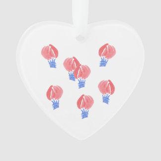 Luft-Ballon-Herz-Verzierung Ornament