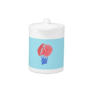 Luft-Ballon-kleine Teekanne