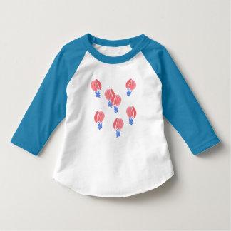 Luft-Ballon-Kleinkindraglan-T - Shirt