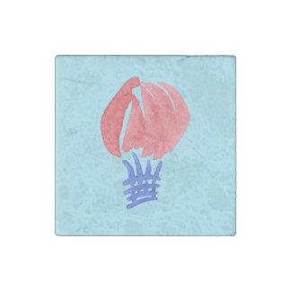 Luft-Ballon-Marmor-Stein-Magnet Stein-Magnet