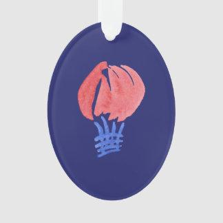 Luft-Ballon-Oval-Verzierung Ornament