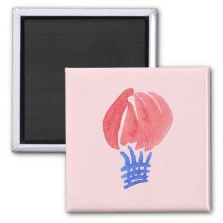 Luft-Ballon-Quadrat-Magnet Quadratischer Magnet