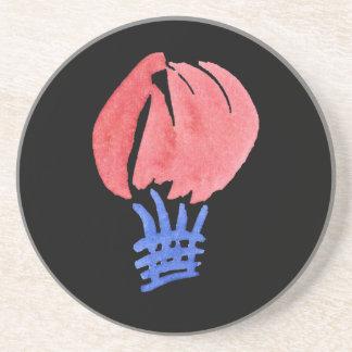 Luft-Ballon-Sandstein-Getränk-Untersetzer Untersetzer