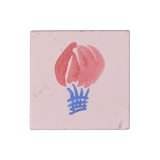 Luft-Ballon-vorbereiteter Marmormagnet Steinmagnet