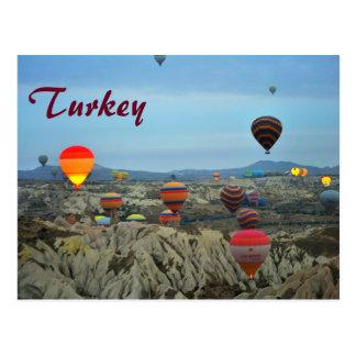 Luft-Ballone von die Türkei-Postkarte Postkarte