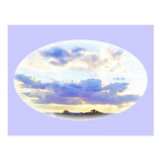 LUFT Element Skyscape Postkarte