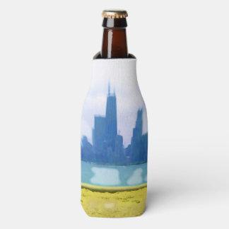 Luft gebürstete Chicago-Wolkenkratzer Flaschenkühler
