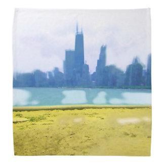 Luft gebürstetes Chicago Kopftuch