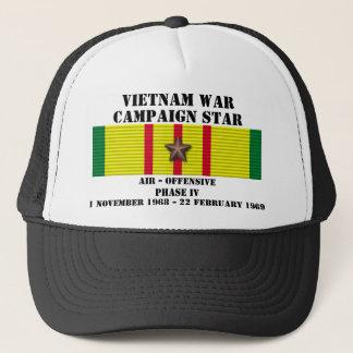 Luft - offensive Kampagne der Phasen-IV Truckerkappe