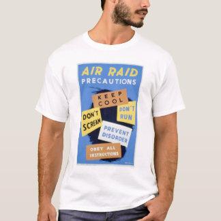 Luftangriff-Vorkehrungen WPA 1941 T-Shirt