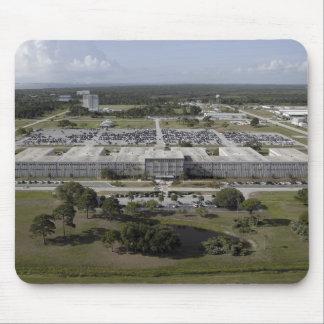 Luftaufnahme des Kennedy Space Centers Mauspad