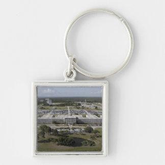 Luftaufnahme des Kennedy Space Centers Schlüsselanhänger