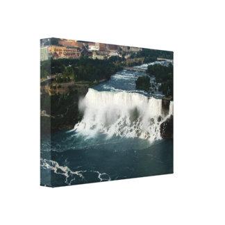 Luftaufnahme-eingewickelte Leinwand #1 Niagara Fal