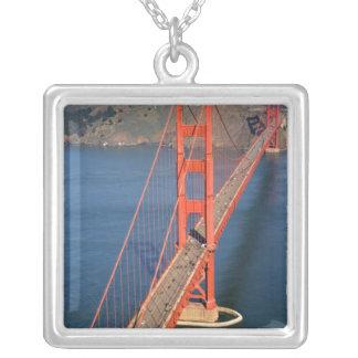 Luftaufnahme Golden gate bridges in Versilberte Kette