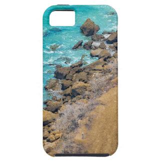 Luftaufnahme-Ozean-Küstenlinie Puerto Lopez E iPhone 5 Etui