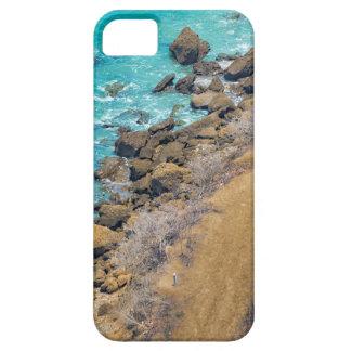 Luftaufnahme-Ozean-Küstenlinie Puerto Lopez E iPhone 5 Hülle