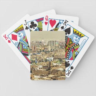Luftaufnahme Stadtrände der aus Lima, Peru Bicycle Spielkarten