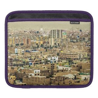 Luftaufnahme Stadtrände der aus Lima, Peru iPad Sleeve