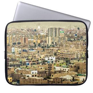 Luftaufnahme Stadtrände der aus Lima, Peru Laptop Sleeve