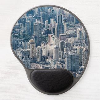 Luftaufnahme Twilight Shanghai-Stadt China Gel Mousepad