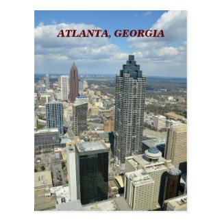 Luftaufnahme von Atlanta, Georgia Postkarte