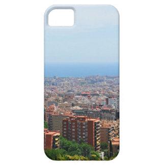 Luftaufnahme von Barcelona, Spanien iPhone 5 Schutzhülle