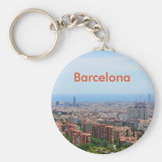 Luftaufnahme von Barcelona, Spanien Schlüsselanhänger