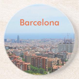 Luftaufnahme von Barcelona, Spanien Untersetzer