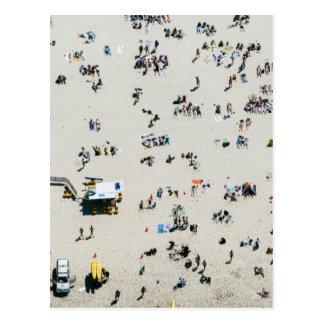 Luftaufnahme von Bondi Strand, Sydney Australien Postkarte