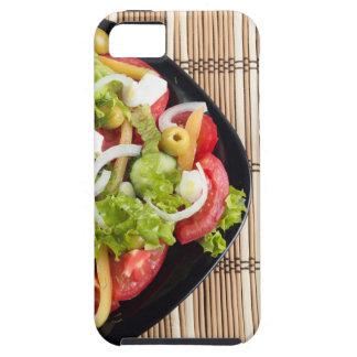 Luftaufnahme von einem Teil Gemüsesalat Etui Fürs iPhone 5