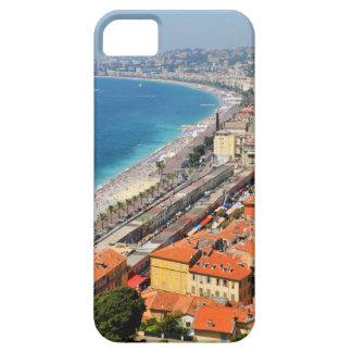 Luftaufnahme von französischem Riviera in Nizza, Barely There iPhone 5 Hülle