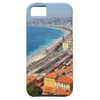 Luftaufnahme von französischem Riviera in Nizza, iPhone 5 Etui