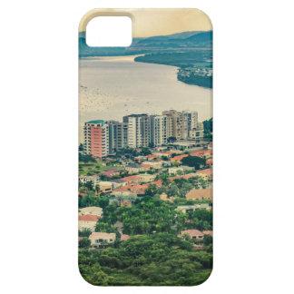 Luftaufnahme von Guayaquil-Stadtrand vom Flugzeug Etui Fürs iPhone 5