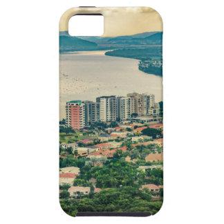Luftaufnahme von Guayaquil-Stadtrand vom Flugzeug Schutzhülle Fürs iPhone 5