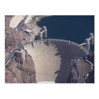 Luftaufnahme von Hooverdamm Postkarte