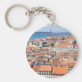 Luftaufnahme von Lissabon, Portugal Schlüsselanhänger