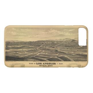 Luftaufnahme von Los Angeles, Kalifornien (1877) iPhone 8 Plus/7 Plus Hülle