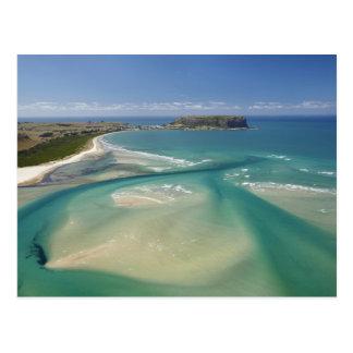 Luftaufnahme von Mündung, von Sawyer-Bucht, Postkarte