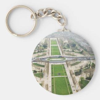 Luftaufnahme von Paris Schlüsselanhänger