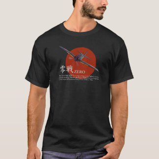 """Luftfahrt-Kunst-T - Shirt """"A6M null"""""""