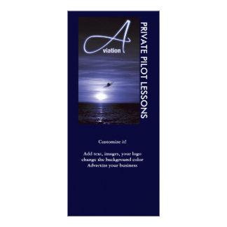 Luftfahrtfliegen steuert Geschäfts-Marketing 12,2 X 22,9 Cm Kartendruck