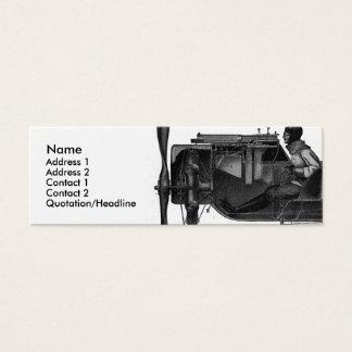 Luftfahrtindustrie-Visitenkarte Mini Visitenkarte